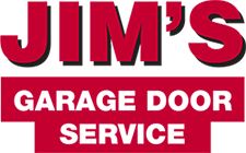 Jim's Garage Door Service Logo