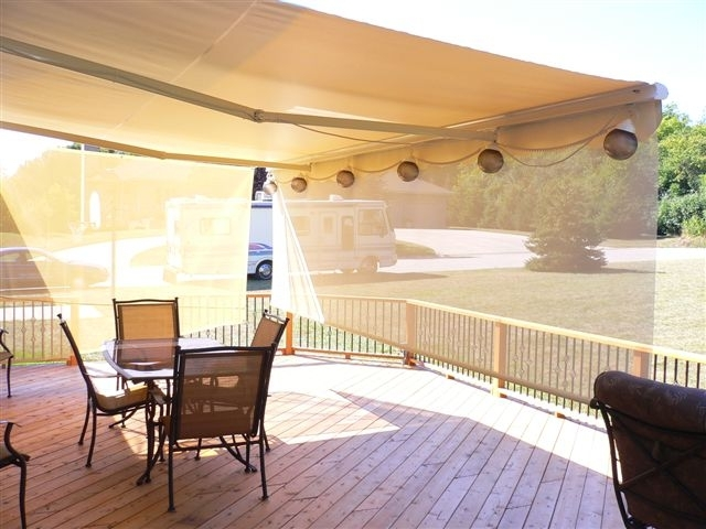 Get More Enjoyment And Use From Your Deck Or Patio With SunSetter Retractable Awnings